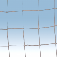 Net for mini football goal, 250x100 cm