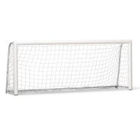 Mini football goal 250x100 cm aluminium, including net
